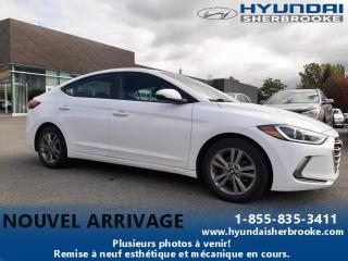 Used 2017 Hyundai Elantra GL+DEMARREUR+CAMERA+BANCS/VOLANT CHAUF for sale in Sherbrooke, QC