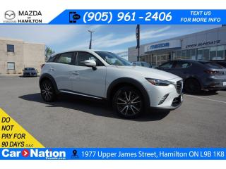 Used 2016 Mazda CX-3 GT | LEATHERETTE | NAV | SUNROOF | SUNROOF for sale in Hamilton, ON