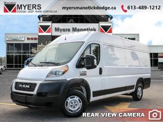 Used 2019 RAM ProMaster 3500 High Roof EXT 159