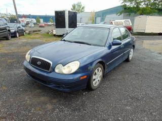 Used 2003 Hyundai Sonata Berline 4 portes GL, moteur quatre cylin for sale in St-Eustache, QC