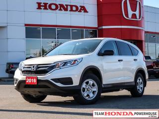 Used 2016 Honda CR-V LX AWD--One Owner W/Clean CarFax for sale in Milton, ON