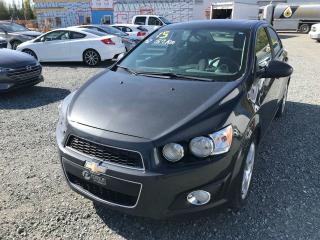 Used 2015 Chevrolet Sonic LT TOIT OUVRANT for sale in Val-D'or, QC