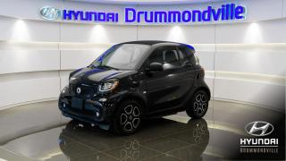 Used 2018 Smart fortwo EQ ELECTRIC DRIVE PASSION + GARANTIE !! for sale in Drummondville, QC