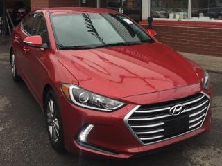 Used 2017 Hyundai Elantra Navigation,BlindSpotDetection,BackUpCamera,HeatedSteeringWheels,HeatedSeats,Alloys,LikeNew,HyundaiWarranty for sale in Toronto, ON