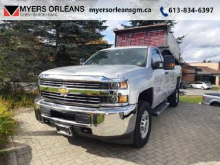 Used 2015 Chevrolet Silverado 2500 HD WT  Includes DUMP BOX!!! for sale in Orleans, ON