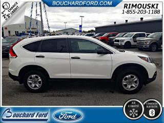 Used 2014 Honda CR-V Traction intégrale LX for sale in Rimouski, QC