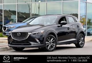Used 2017 Mazda CX-3 GT CX-3 GT 2017 GPS INCLUS for sale in Lachine, QC