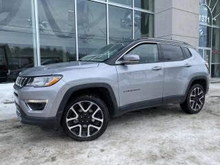 Used 2018 Jeep Compass LIMITED 4X4 CUIR 82$/Sem for sale in Ste-Agathe-des-Monts, QC
