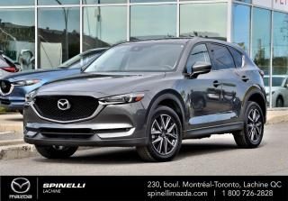 Used 2017 Mazda CX-5 GT CX-5 GT 2017 GPS INCLUS for sale in Lachine, QC