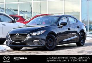 Used 2016 Mazda MAZDA3 GX CAMERA DE RECUL PREMIER PAIEMENT EN 3 MOIS MAZDA 3 GX 2016 MANUEL for sale in Lachine, QC