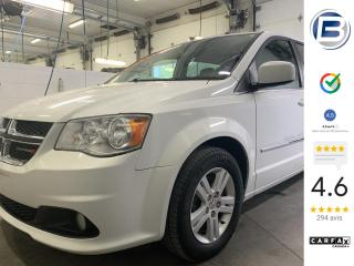 Used 2016 Dodge Grand Caravan Crew Plus for sale in St-Hyacinthe, QC