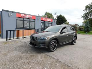 Used 2016 Mazda CX-5 GT|LEATHER|SUNROOF|NAVI|ALL WHEEL DRIVE for sale in St. Thomas, ON
