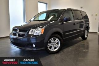 Used 2013 Dodge Grand Caravan CREW || MAGS || STOW N GO || JAMAIS ACCIDENTÉ for sale in Brossard, QC