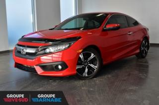 Used 2016 Honda Civic TOURING AUTOMATIQUE || CUIR || TOIT || JAMAIS ACCI PNEUS HIVER INCLUS for sale in Brossard, QC