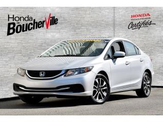 Used 2015 Honda Civic EX Garantie complète 100, 000km ou 2020 for sale in Boucherville, QC