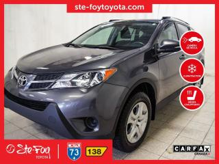 Used 2015 Toyota RAV4 LE AWD Sièges chauffants, Caméra recul for sale in Québec, QC