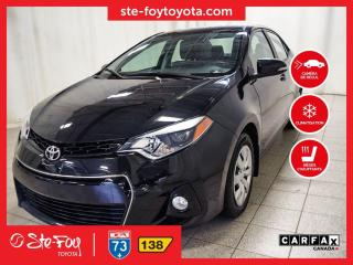 Used 2016 Toyota Corolla S Sièges chauffants, Climatiseur for sale in Québec, QC