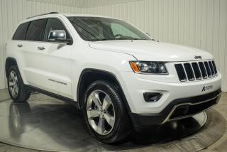 Used 2016 Jeep Grand Cherokee LIMITED 4X4 CUIR TOIT MAGS 20 for sale in St-Hubert, QC