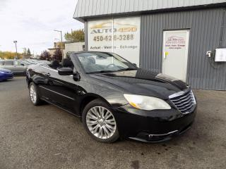 Used 2011 Chrysler 200 ***CONVERTIBLE,BAS KILOMETRAGE,MAGS,A/C* for sale in Longueuil, QC