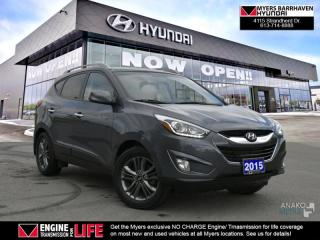 Used 2015 Hyundai Tucson GLS  - Sunroof -  Bluetooth - $71.93 /Wk for sale in Nepean, ON