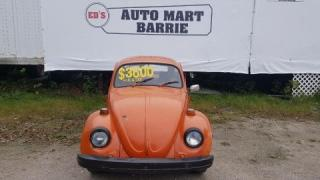 Used 1975 Volkswagen Beetle for sale in Barrie, ON