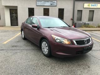 Used 2008 Honda Accord EX-L,NO ACCIDENTS,CERTIFIED ! for sale in Burlington, ON
