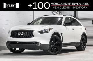 Used 2017 Infiniti QX70 AWD 4dr Sport !! MAGS 21 PO , BOSE , GPS !! for sale in Montréal, QC