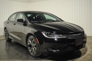 Used 2015 Chrysler 200 S AWD CUIR MAGS NAV for sale in St-Hubert, QC