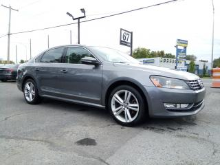Used 2012 Volkswagen Passat TDI Highline NAVIGATION FENDER CUIR / SUEDE AUTOM. for sale in St-Eustache, QC