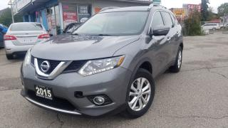 Used 2015 Nissan Rogue SV AWD - Family Tech, 7 Pasenger, Navi, Camera for sale in Mississauga, ON