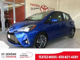 Used 2018 Toyota Yaris * SE * DEMARREUR * MAGS * BLUETOOTH * for sale in Mirabel, QC