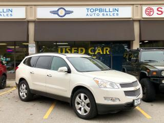 Used 2011 Chevrolet Traverse LTZ AWD, Only 96K km for sale in Vaughan, ON