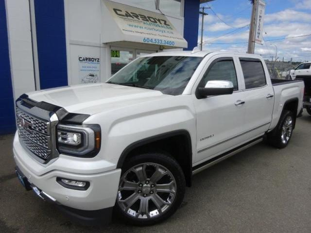 2018 GMC Sierra 1500 Denali Ultimate, 4x4, 6.2L, Nav, Sunroof, 22's!!