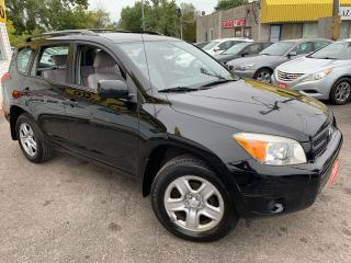 Used 2008 Toyota RAV4 AUTO/ 4WD/ 4 CYL/ PWR GROUP/ ROOF RACK/ LOADED! for sale in Scarborough, ON