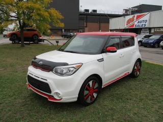 Used 2016 Kia Soul SX ~ GDI ~ Sport Polar White/Red for sale in Toronto, ON