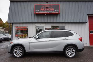 Used 2015 BMW X1 AWD xDrive28i AUTO CUIR TOIT PANO BLUETOOTH 76 893 for sale in Lévis, QC
