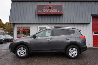 Used 2014 Toyota RAV4 LE AWD FULL ÉQUIPÉ CAMERA SIÈGES CHAUFFANT 123 505 for sale in Lévis, QC