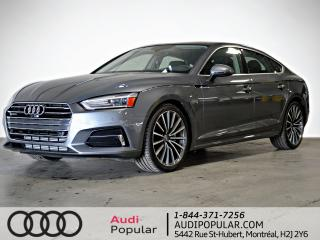 Used 2019 Audi A5 Komfort 45 TFSI quattro for sale in Montréal, QC