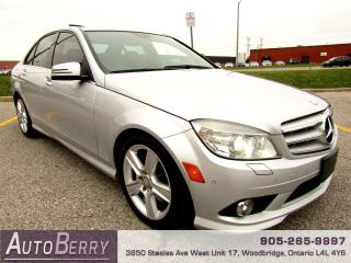 Used 2010 Mercedes-Benz C-Class C300 4MATIC for sale in Woodbridge, ON