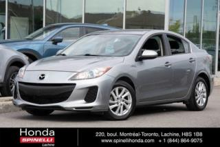 Used 2012 Mazda MAZDA3 GS-SKY AUTO MAGS AUTO MAGS CRUISE SIEGES CHAUFFANTS for sale in Lachine, QC