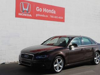 Used 2011 Audi A4 2.0T Premium AWD for sale in Edmonton, AB