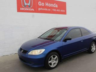 Used 2004 Honda Civic Cpe Lx Coupé for sale in Edmonton, AB