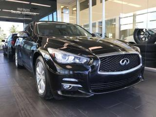 Used 2017 Infiniti Q50 PREMIUM, POWER HEATED LEATHER SEATS, BACK-UP CAMERA, NAVI for sale in Edmonton, AB