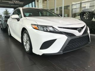 Used 2019 Toyota Camry SE, ACCIDENT FREE, PADDLE GEAR SHIFTS, POWER HEATED LEATHER SEATS, BACK-UP CAMERA for sale in Edmonton, AB