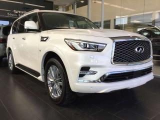 Used 2019 Infiniti QX80 LUXE 4dr AWD Sport Utility for sale in Edmonton, AB