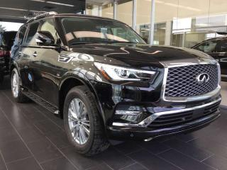 Used 2019 Infiniti QX80 7-PASSENGER LUXE AWD Sport Utility for sale in Edmonton, AB