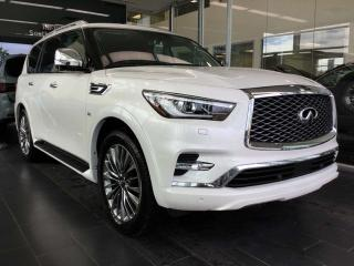 Used 2019 Infiniti QX80 LUXE PROACTIVE AWD Sport Utility for sale in Edmonton, AB