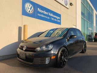 Used 2013 Volkswagen Golf GTI WOLFSBURG EDITION 6SPD M/T for sale in Edmonton, AB