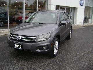 Used 2016 Volkswagen Tiguan SE for sale in Cornwall, ON