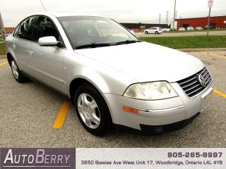 Used 2003 Volkswagen Passat GLX 4Motion 2.5L for sale in Woodbridge, ON